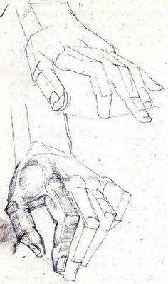 Рисунок рук и ног
