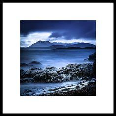 The Cuillin Ridge Framed Print By Lynne  Douglas