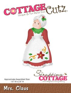 CottageCutz Mrs. Claus