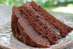 Martha Washington's Devil's Food Cake - George Washington never had a White House chef or even a White House, but he did have Martha, an exceptional cook and First Lady who created this cake, a Presidential favorite.