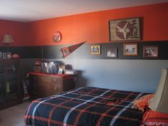 Luke's Oregon State Bedroom #2