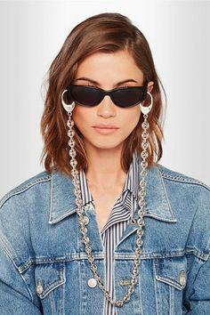 corrente para oculos balenciaga 21 Óculos De Sol Vintage, Oculos Colorido,  Cordão Para Oculos 6d69b1e4c3