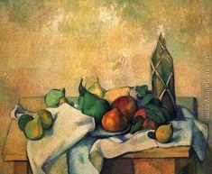 Still life, Rumfla Paul Cezanne Reproduction | 1st Art Gallery #OilPaintingStillLife