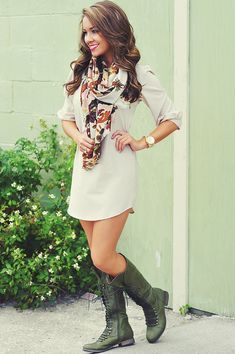 off white dress, hair colors, fall clothes, dream closet, white outfits