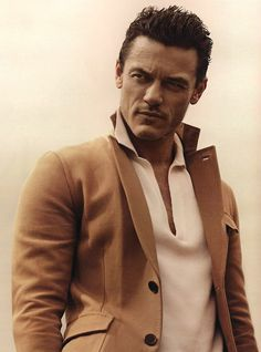 Luke Evans - Thanos! Dark, older, hard-lined face, thick skin, cruel. His name means Death