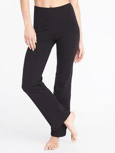 826b21319f High-Rise Slim Boot-Cut Yoga Pants for Women