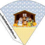 Cone Guloseimas Nascimento Jesus: LARGE SET