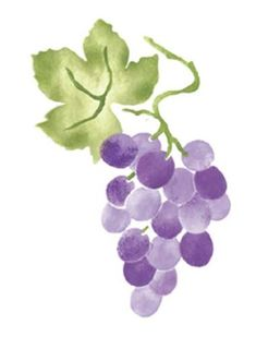 Dreamweaver large brass stencil grape cluster for Buy grape vines for crafts