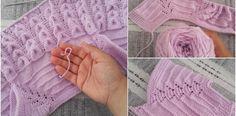 Tütün Yaprağı Modeli Bebek Yelekleri Örneği Yapılışı Knitting Terms, Intarsia Knitting, Knitting Blogs, Knitting Kits, Crochet Table Runner Pattern, Crochet Bikini Pattern, Crochet Blanket Patterns, Baby Knitting Patterns, Crochet Baby Sweaters
