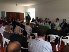 Reunião de Marco António Costa, Vice-Presidente Coordenador do Partido Social Democrata, acompanhado por Deputados à Assembleia da República que integram a Comissão da Agricultura e do Mar, com Agentes do Sector Agrícola no Cadaval.