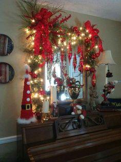 Love the Santa cone