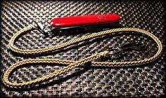 https://flic.kr/p/KrRRdb | SAK Lanyard | 1.4mm cord two-peg spool knit lanyard…