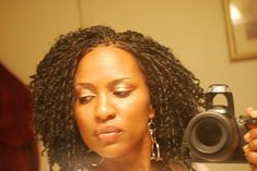 Natural Looking Crochet Braids | first set of braids i kept these braids in for