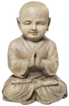 Alfresco Home Praying Buddha Statuary, Antique Brown by Alfresco Home. Save 23 Off!. $68.00. Dimensions: 11 l by 10 w by 15-3/4 h. Combination of fiberglass and stone fibers creates a fine texture finish. Made of durable fiberstone blend. Grace any garden with charm and reverence. Finished in rich pantina color. Alfresco Home is a wholesale designer of a fresh new line of original interior and exterior home and garden accents. The Alfresco Lite Devotional Statuary Collection is made of ...