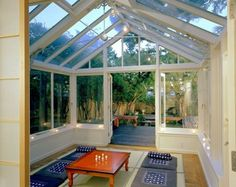 Eclectic Exterior Photos Conservatory Design Ideas, Pictures, Remodel, and Decor