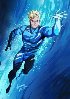 Cammo Aquaman Commission by LucianoVecchio.deviantart.com on @DeviantArt