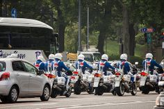 Police Motorcycle Gang