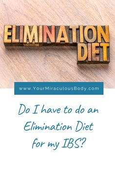 The low-FODMAP diet is an example of an elimination diet for IBS. Often out of frustration, many people attempt this treatment before taking the time to simplify the diet following common IBS dietary advise. Take a look at what the medical literature has to say about elimination diets. #IBS #diet #treatment #naturalremedy #symptoms #relief #fodmap #avoid Fodmap Diet, Low Fodmap, Anxiety Tips, Stress And Anxiety, Health And Wellness, Women's Health, Health Tips, Health Care