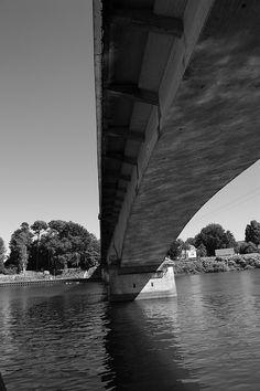 Puente Río Calle Calle en Valdivia