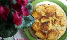 Patates tava tarifi (mısır unlu patates kızartması)