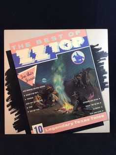 ZZ Top - The Best Of - LP vinyl record - 1977 RCA Records by TheTimeTravelingPug on Etsy