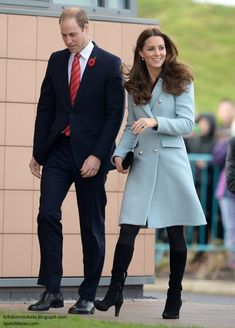 The Duke and Duchess of Cambridge spent the day in Wales carrying out engagements. Following, a...