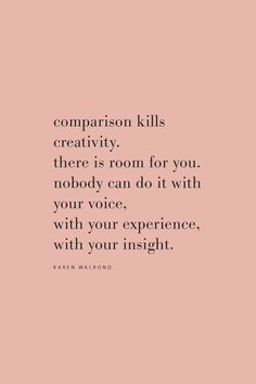 Quote from Karen Walrond about creativity on the Feel Good Effect Podcast. #realfoodwholelife #feelgoodeffect #podcast #wellness #purpose