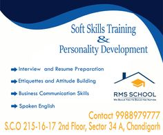 Soft Skills Training & Personality development
