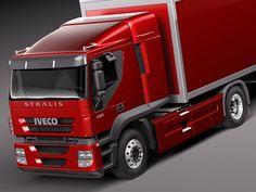 Iveco Stralis 2011 Truck 3D 3Ds - 3D Model