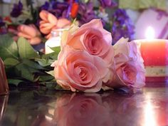 ~ ♥ღ Valentines roses ღ♥ ~ - Flowers Wallpaper ID 1682484 - Desktop Nexus Nature Happy Birthday Images, Happy Birthday Wishes, Birthday Greetings, Birthday Cards, Happy Birthdays, Birthday Messages, Beautiful Flowers Wallpapers, Beautiful Roses, Pretty Flowers