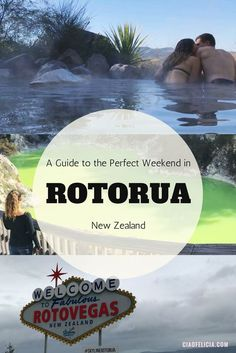 How to spend a weekend in Rotorua, New Zealand! A great guide that includes attractions, hidden gems, spas, food, and fun activities! - Blog by CiaoFelicia - Travel Blogger