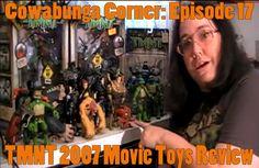 Cowabunga Corner episode 17: A review of the TMNT 2007 Movie Toy line. http://www.cowabungacorner.com/content/cowabunga-corner-17