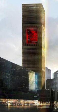 Jean Nouvel. Signel Tower. (?) 2014. La Defense, Paris.