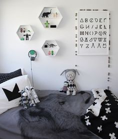 soft scandinavian kids room