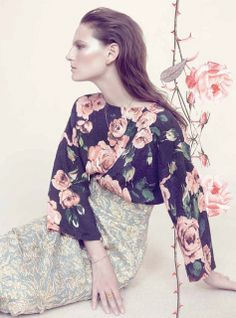 {fashion inspiration | collaboration : victoria and albert museum x harpers bazaar} by {this is glamorous}, via Flickr