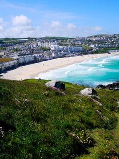 St Ives, Land's End Peninsula, Cornwall, England St Ives Cornwall, Devon And Cornwall, Great Places, Places To See, Beautiful Places, South West Coast Path, Seaside Towns, English Countryside, Great Britain