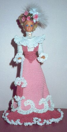 My mom and aunt made most of my Barbie's clothes.  They would have loved this outfit!