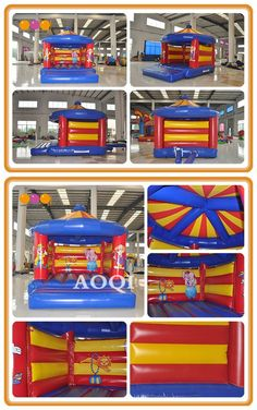 Clown inflatable bouncer is suitable to place in the kindergarten,amusement park.Children will have a happy childhood with it. Come and play with it. Inflatable Bouncers, Amusement Park, Arcade Games, Jukebox, Special Events, Kindergarten, Childhood, Play, Children