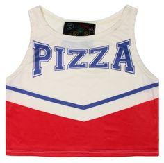 O-Mighty PIZZA CHEER TANK at Shop Jeen | SHOP JEEN