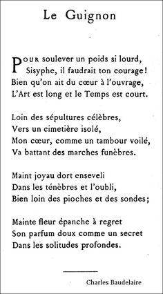 Baudelaire - Le Guignon