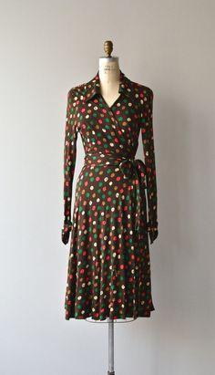 Diane Von Furstenberg wrap dress 1970s knit wrap by DearGolden
