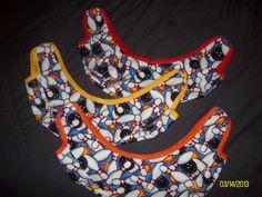 Bowling Ball Buffer bag/ sling In a Cotton by MadewithLovebyDeena, $12.50