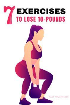 The Best Exercises To Lose Weight At Home Quickly - Check out these 7 best simple exercises that boosts your metabolism and helps you in shedding fat and weight at home. Lose up to 10 lbs in a month with these exercises! #weightloss #fatloss #weightlossexercise #workout Lose 10 Lbs, Losing 10 Pounds, Lose Weight At Home, Boost Your Metabolism, You Fitness, Easy Workouts, Exercises, Fat, Weight Loss