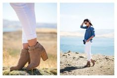 How to Wear Booties with Jeans - stylishlyme