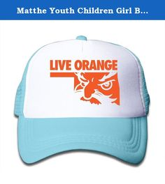 Matthe Youth Children Girl Boy Kids Element Printed Pattern Oklahoma State University OSU Cowboys Logo Unisex Half Mesh Adjustable Baseball Cap Hat Snapback SkyBlue. The Cap Is Poly Foam Trucker Hat With Screen Print At Front Panel,you Can Find Sun Hats That Blocks Sun Rays From Your Face,ears,neck.You Can Browse Our Selection Of Other Options For Everything From Fishing,hiking,and Skiing To Running And Golf.