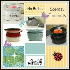 Love the new Scentsy Element warmers!  I can't even pick a customer favorite.  They all tie for best sellers.