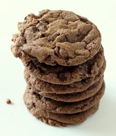 Nutella cookies!  YUMMY!!  I didn't add the choco chips because we were out, but I think they were perfect without.