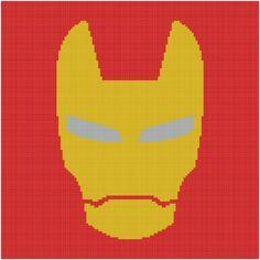 iron man graphgan pattern - via @Craftsy