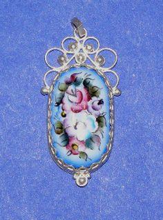 Russian Enamel Jewelry