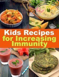 Antioxidant Kids Recipes, Recipes to Boost Immunity